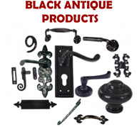 BLACK ANTIQUE IRON BUILDER HARDWARE RANGE